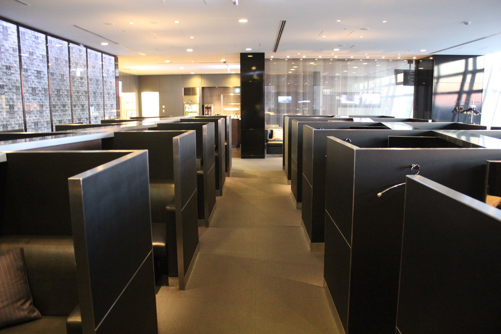 ANA Suite Lounge Tokyo Haneda – Private pods