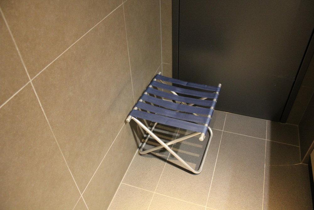 ANA Suite Lounge Tokyo Haneda – Folding stool