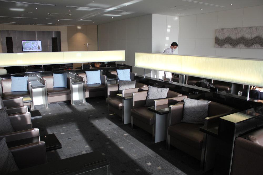 ANA Business Lounge Tokyo Haneda – Seating