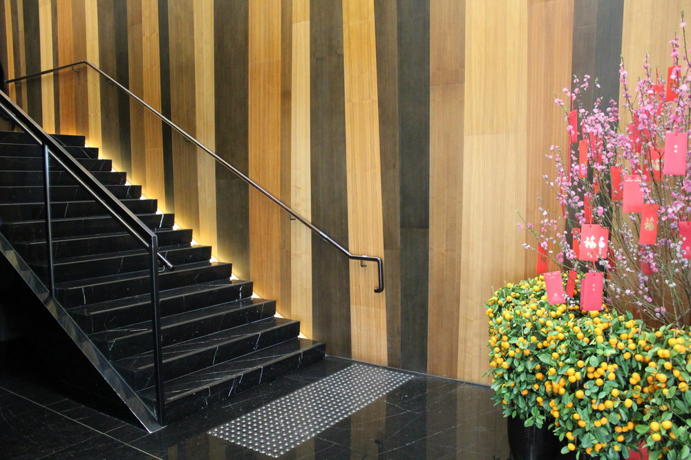 The Wing First Class Lounge by Cathay Pacific – Stairway