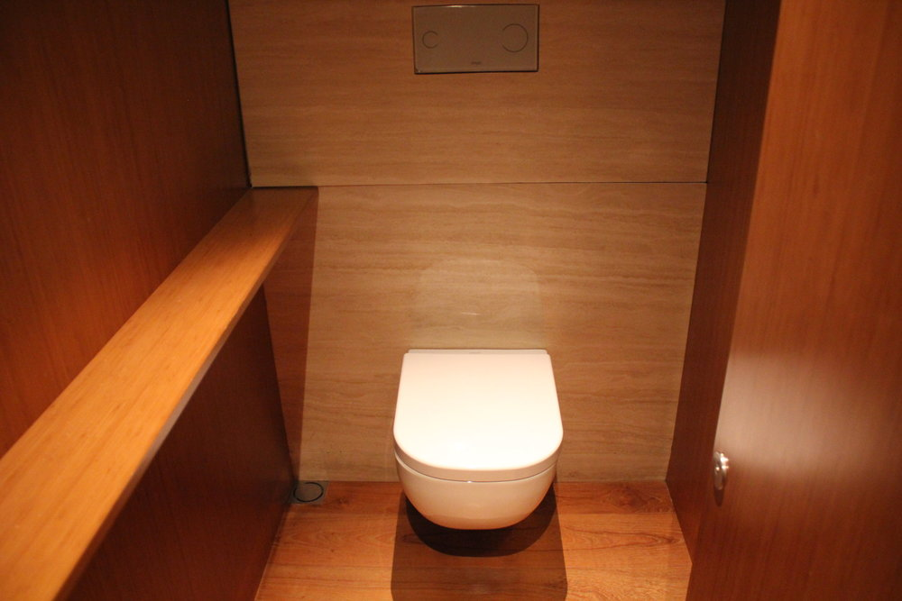 The Wing First Class Lounge by Cathay Pacific – Cabana toilet