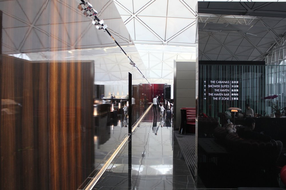 The Wing First Class Lounge by Cathay Pacific – Hallway
