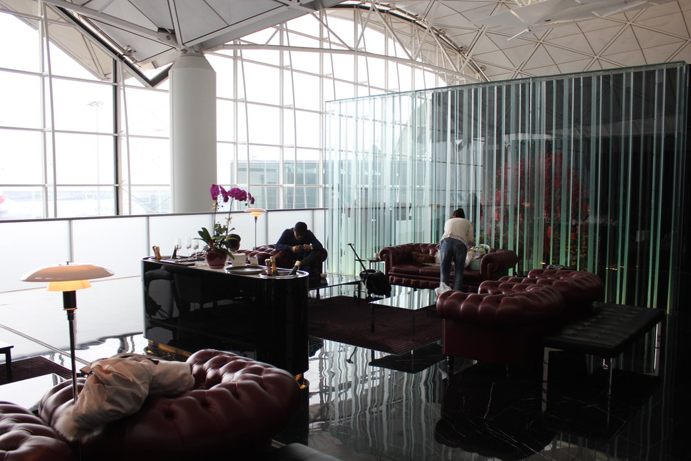 The Wing First Class Lounge by Cathay Pacific – Seating