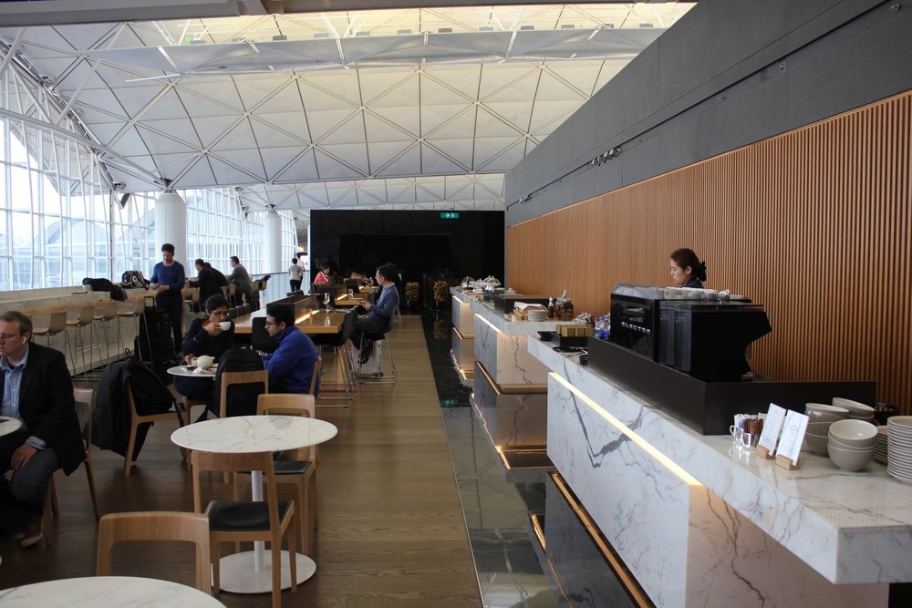 The Wing First Class Lounge by Cathay Pacific – The Atrium