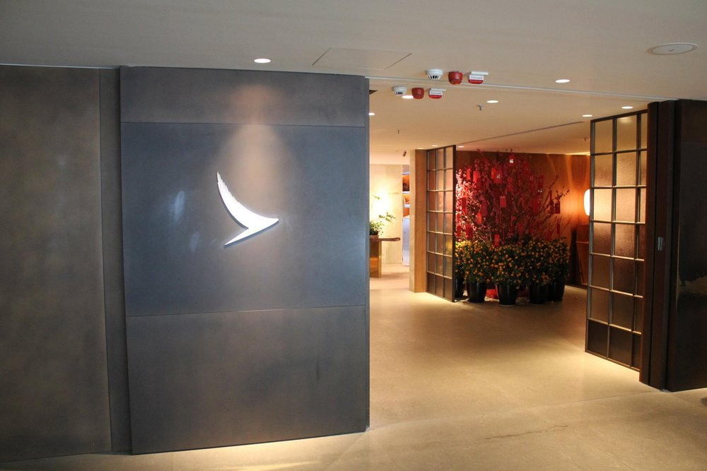 The Pier First Class Lounge by Cathay Pacific – Entrance