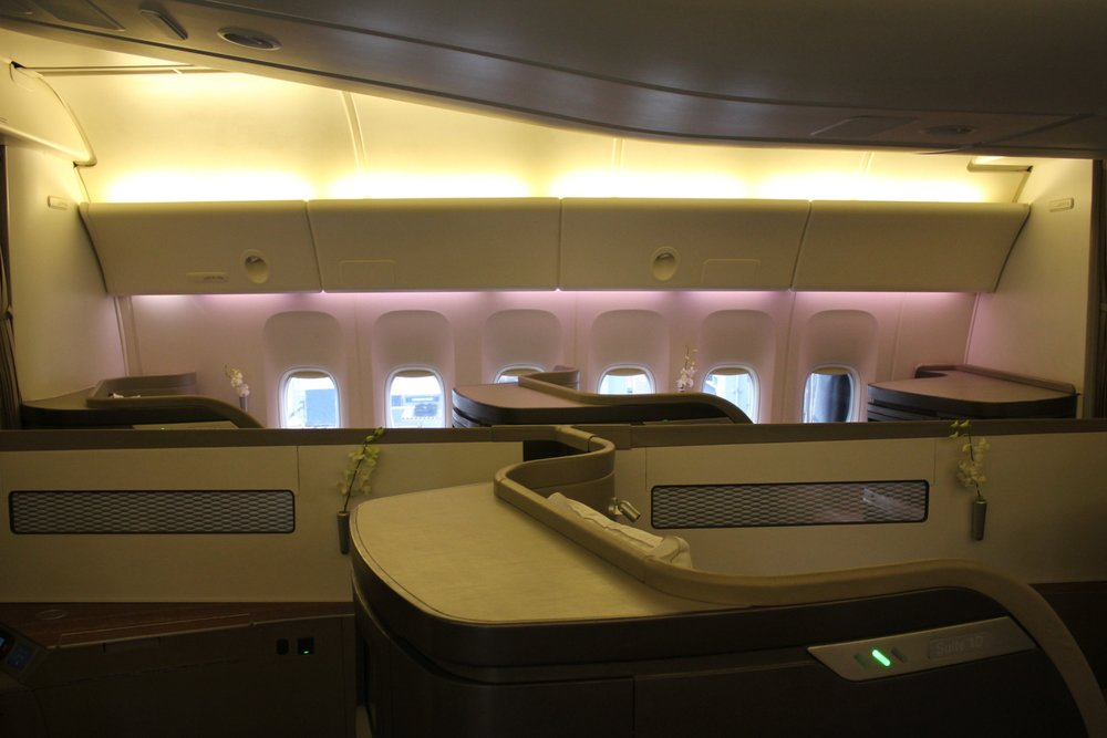 Cathay Pacific First Class – Cabin