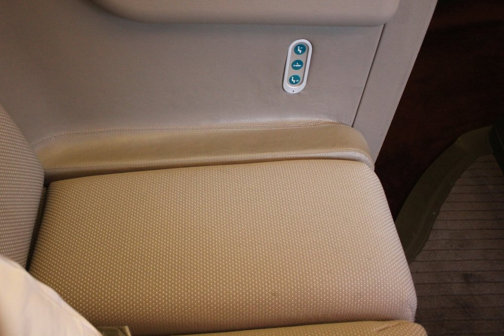 Cathay Pacific First Class – Just space!