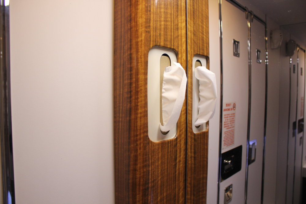 Cathay Pacific First Class – Restroom