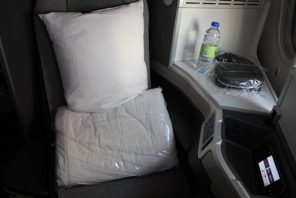 Air Canada business class – Seat 7A