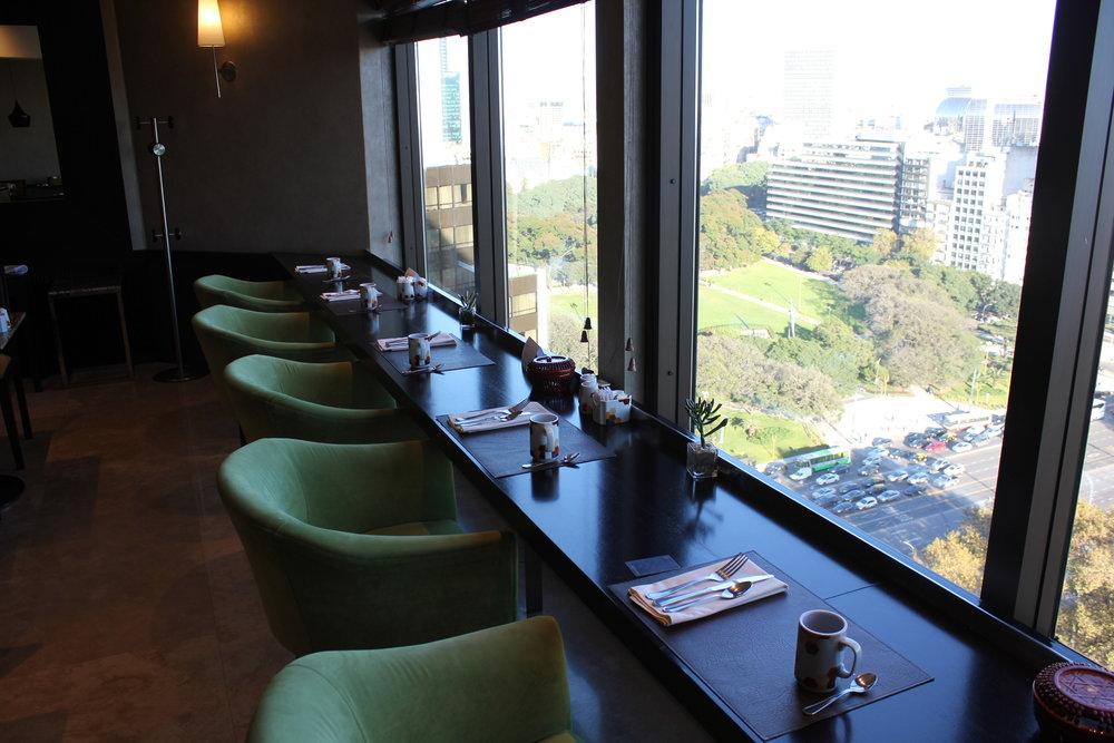 Sheraton Buenos Aires – Sheraton Club window seats