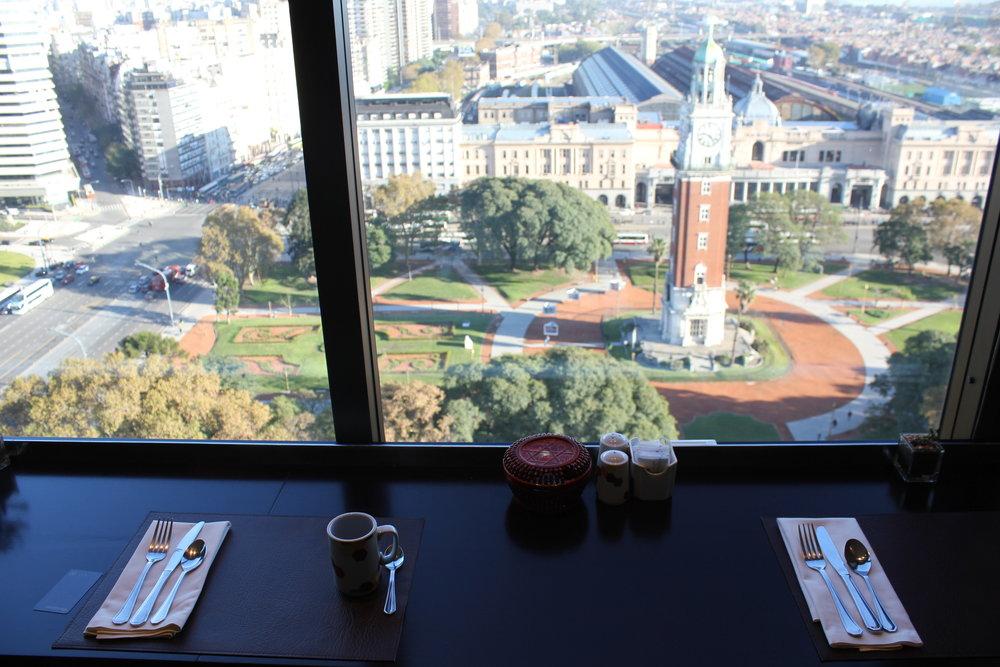 Sheraton Buenos Aires – Sheraton Club view