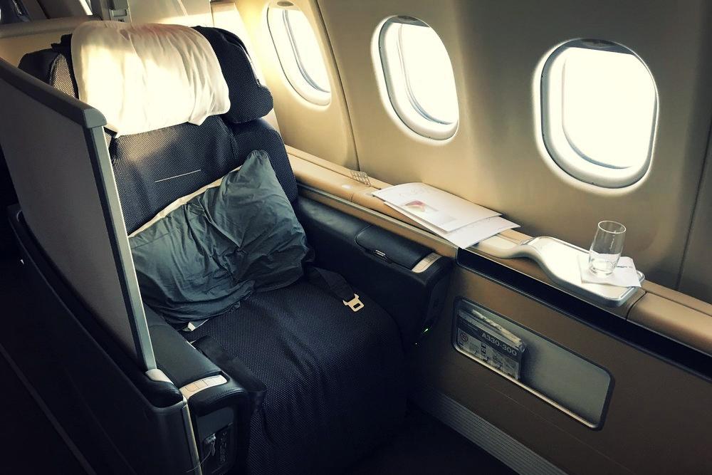 Lufthansa First Class - The classic luxury flight experience