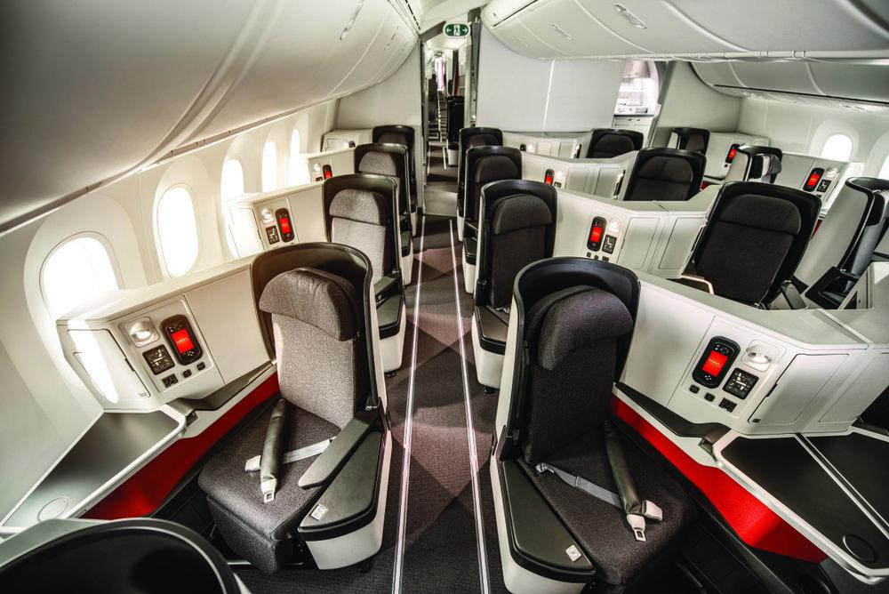 Avianca 787 business class
