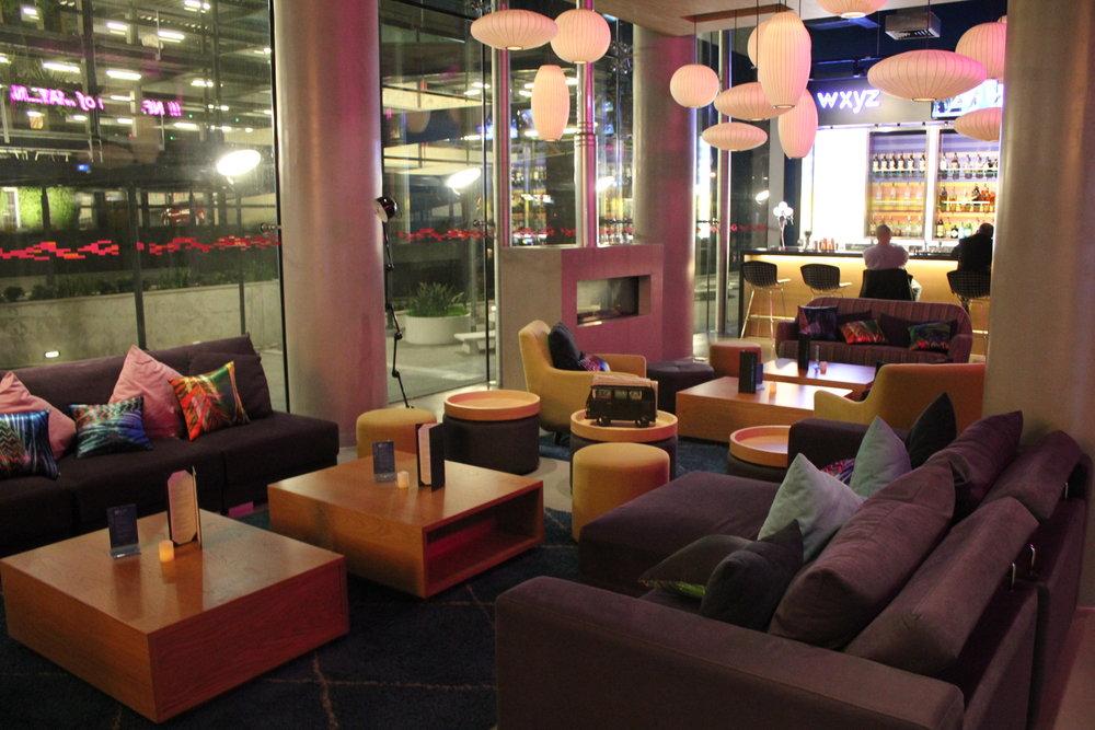 Aloft Montevideo – Lobby lounge