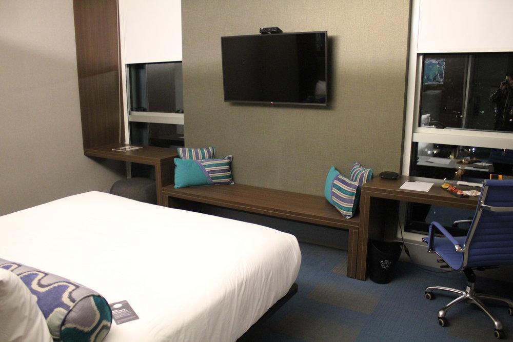 Aloft Montevideo – Bedroom
