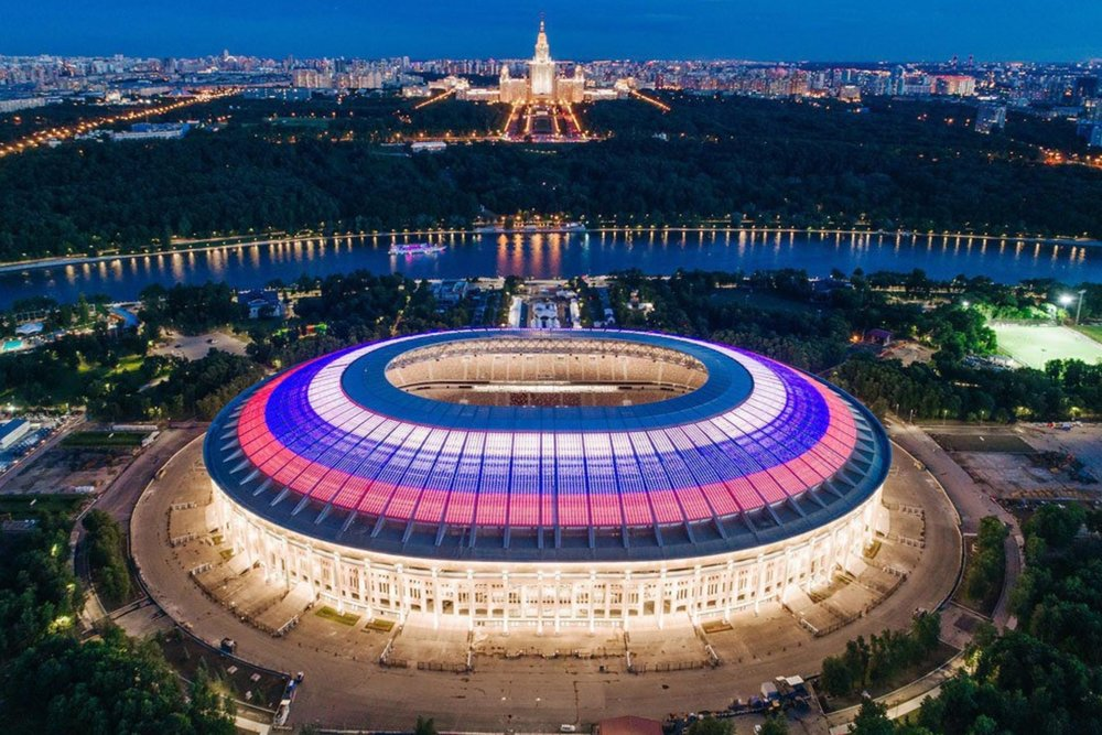 Luzhniki Stadium, Moscow – site of the World Cup final and one of the games I'll be attending
