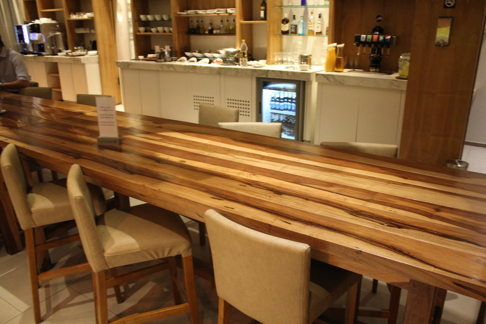Star Alliance Lounge Buenos Aires – Communal table