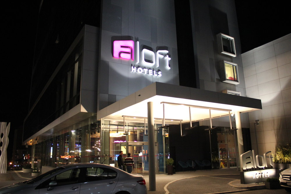 The  Aloft Montevideo  is going from 21,000 points to 12,500 points