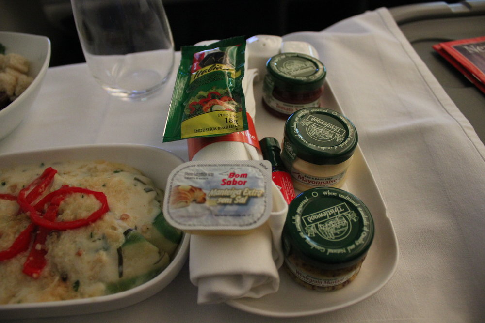 Ethiopian Airlines business class – Condiments