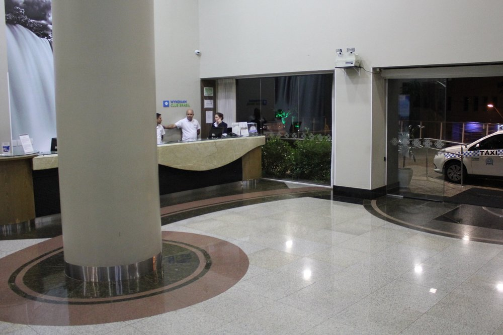 Wyndham Foz do Iguaçu – Check-in area