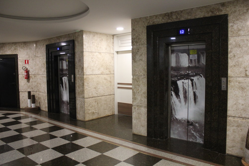 Wyndham Foz do Iguaçu – Interior elevators