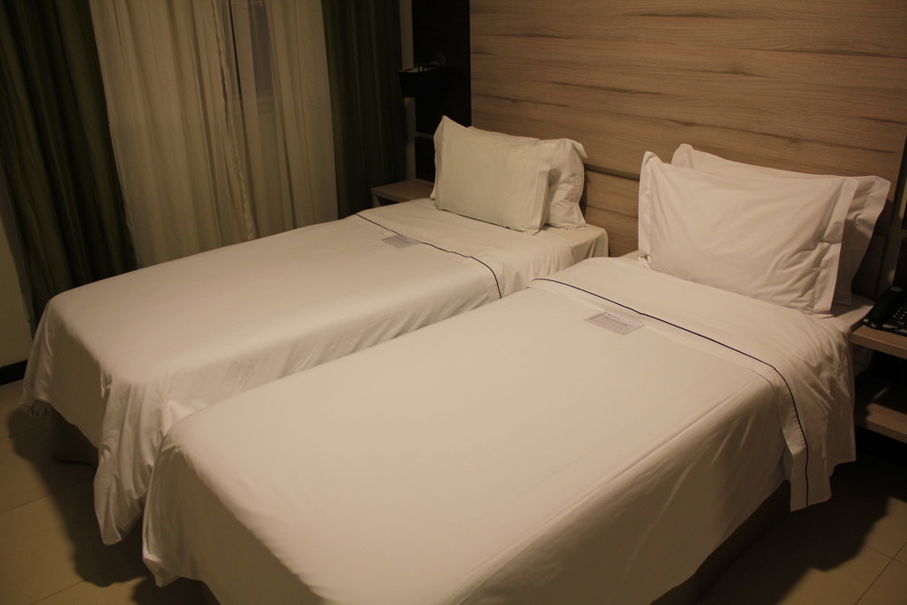 Wyndham Foz do Iguaçu – Twin beds