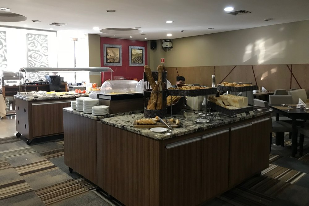 Wyndham Foz do Iguaçu – Breakfast buffet