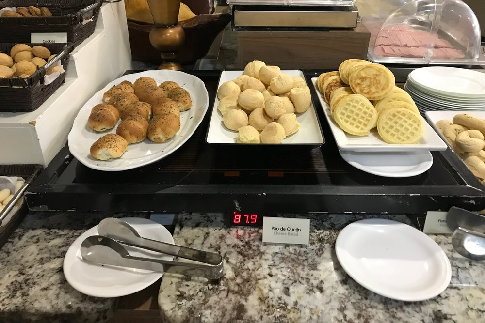 Wyndham Foz do Iguaçu – Pão de queijo
