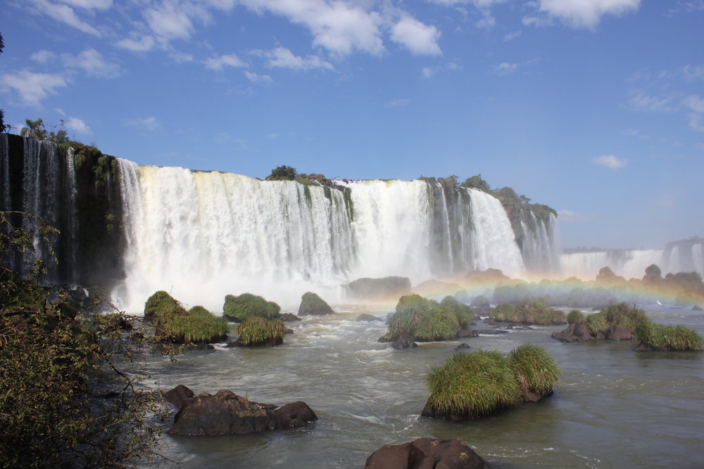 Iguazu Falls – View from the Brazil side