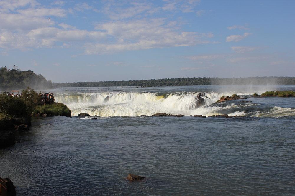 Iguazu Falls – Approach to the Devil's Throat