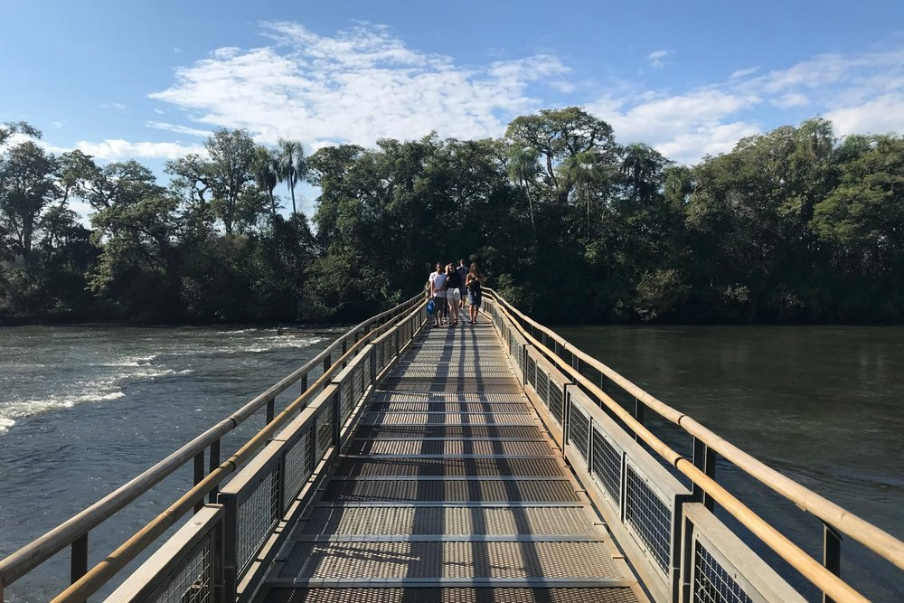 Iguazu Falls – Catwalk to the Devil's Throat viewing platform