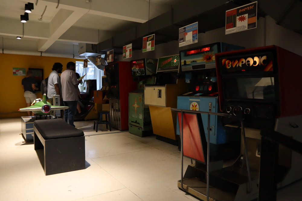 Museum of Soviet Arcade Games, Moscow