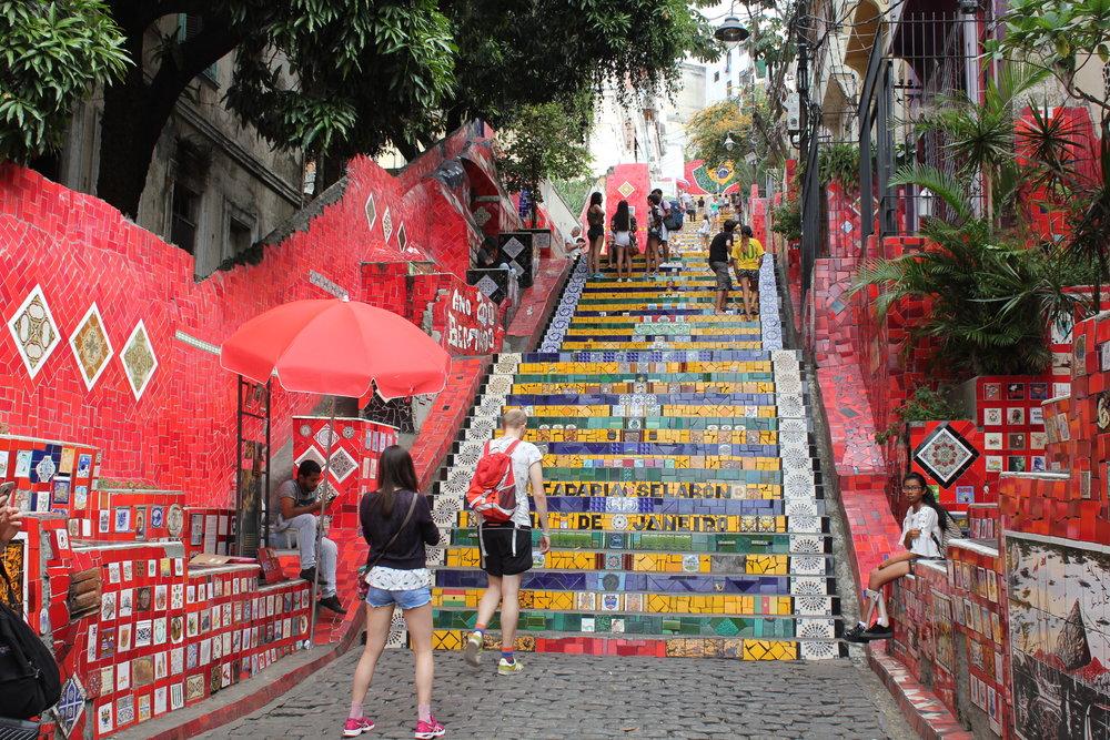 Rio de Janeiro, Brazil – Escadaria Selarón