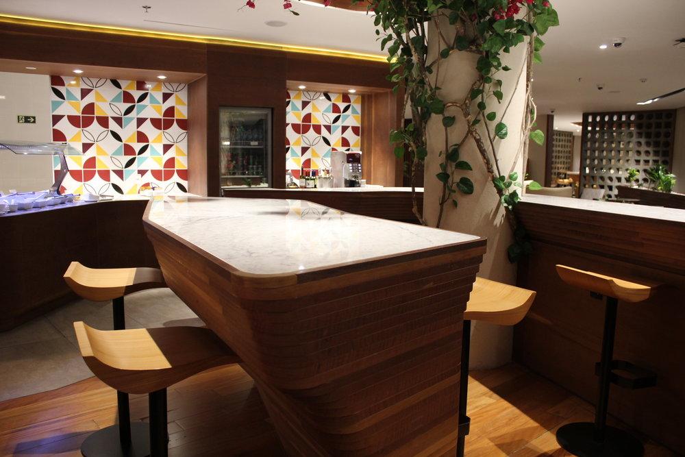 Star Alliance Lounge Rio de Janeiro – Kitchen counter