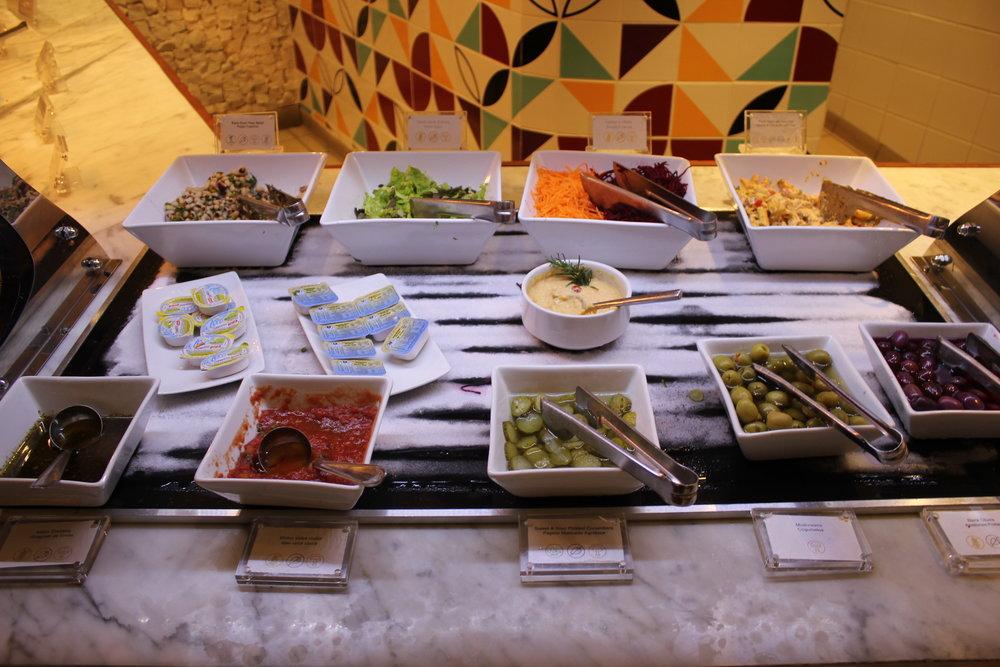 Star Alliance Lounge Rio de Janeiro – Salad bar