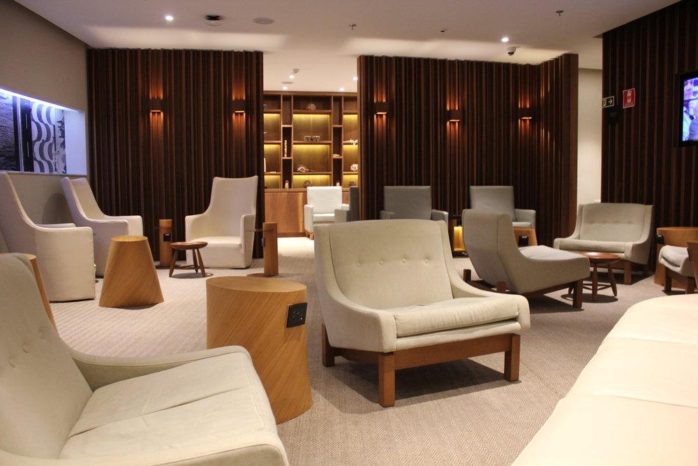 Star Alliance Lounge Rio de Janeiro – Seating