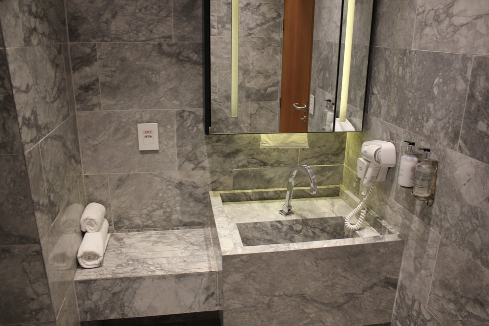 Star Alliance Lounge Rio de Janeiro – Shower room