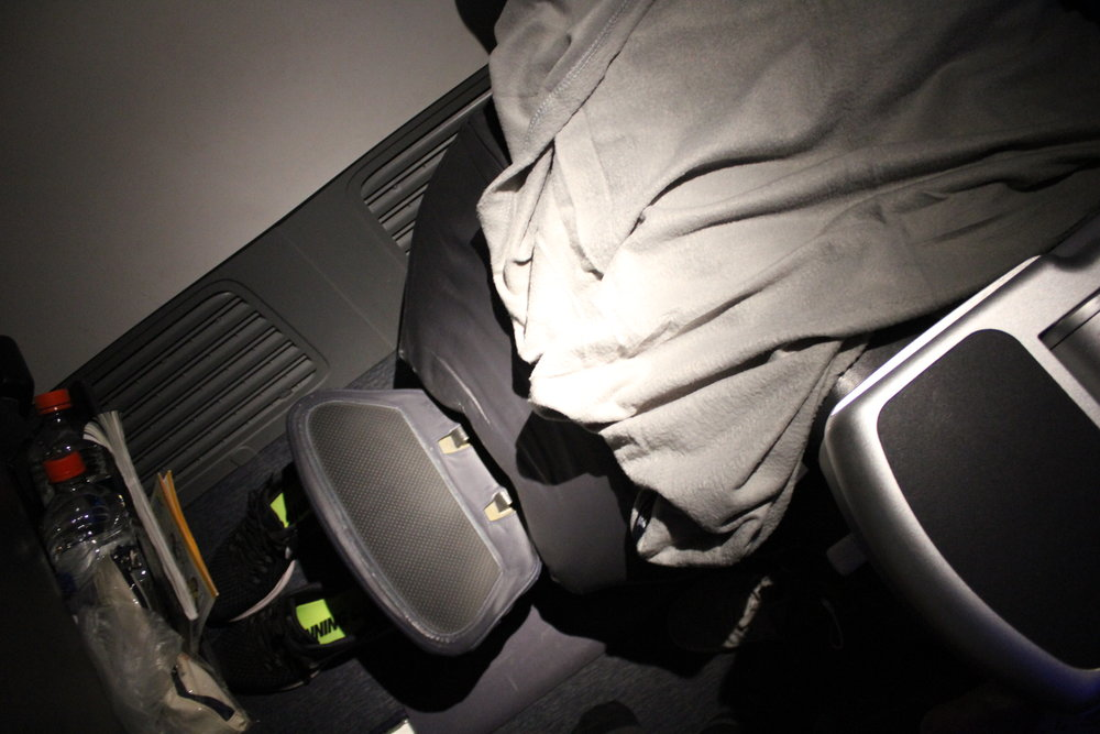 """Copa Airlines business class – Lower """"bed"""""""