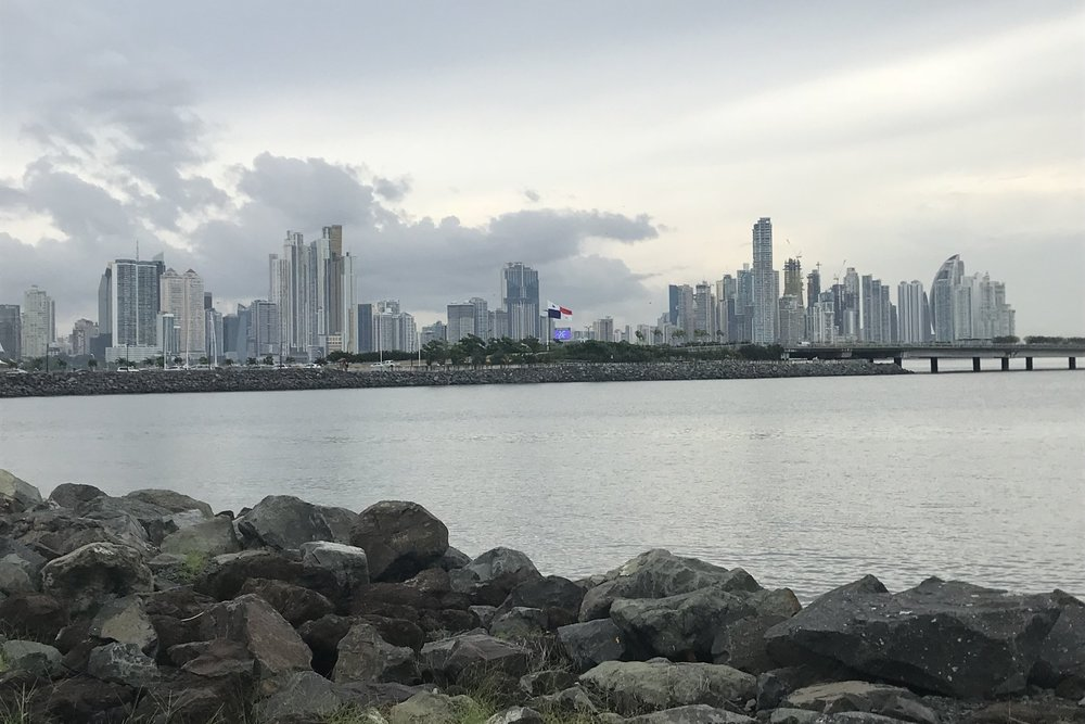 The Panama City skyline
