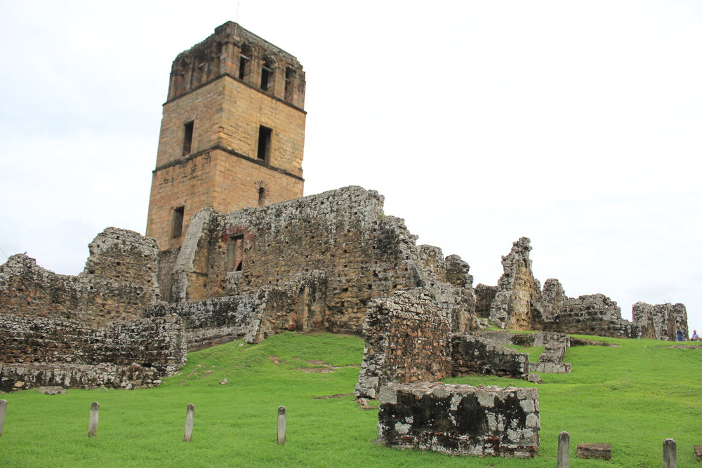 The ruins of Panama Viejo