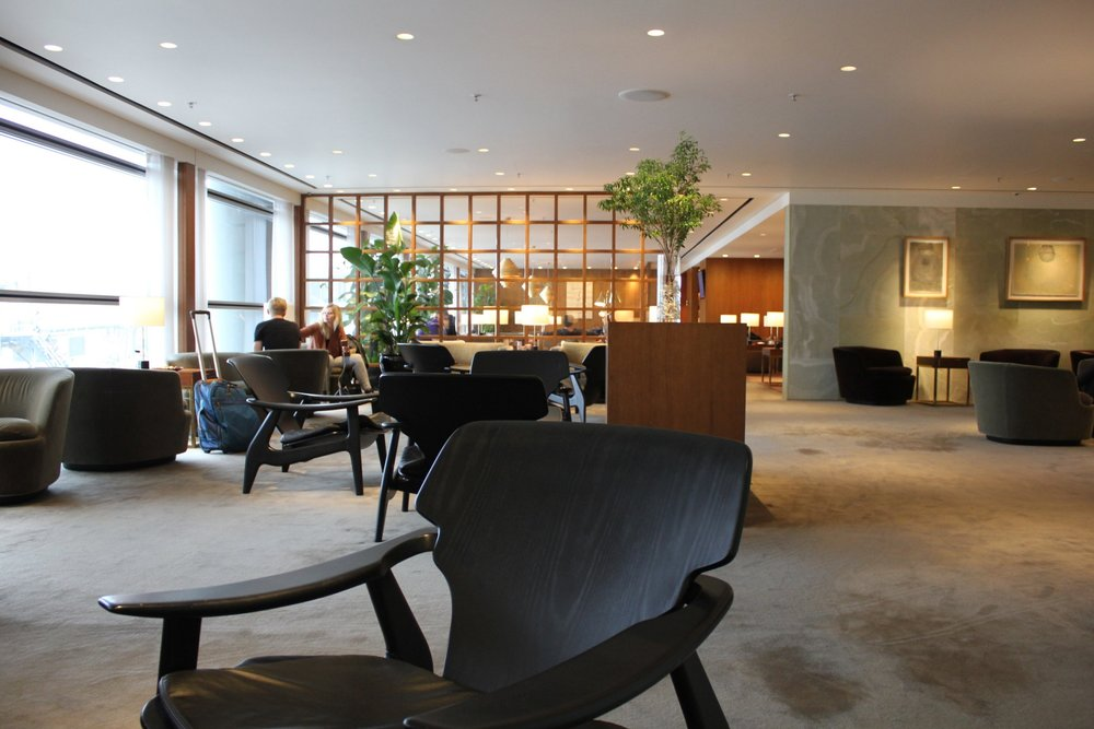 The Pier First Class Lounge  by Cathay Pacific