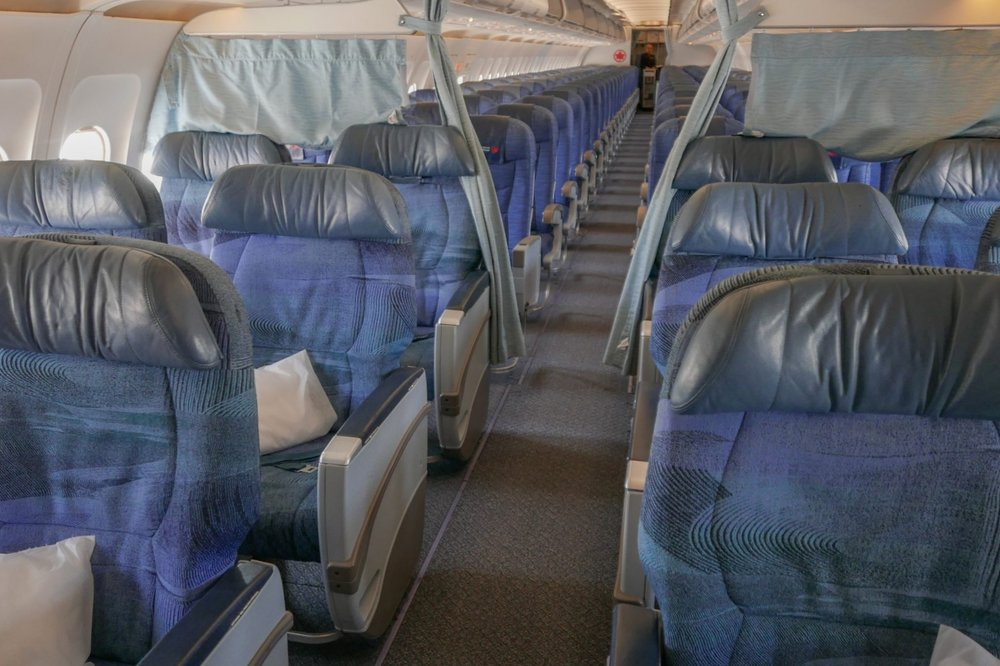 Pay double the miles for these seats? Nah...