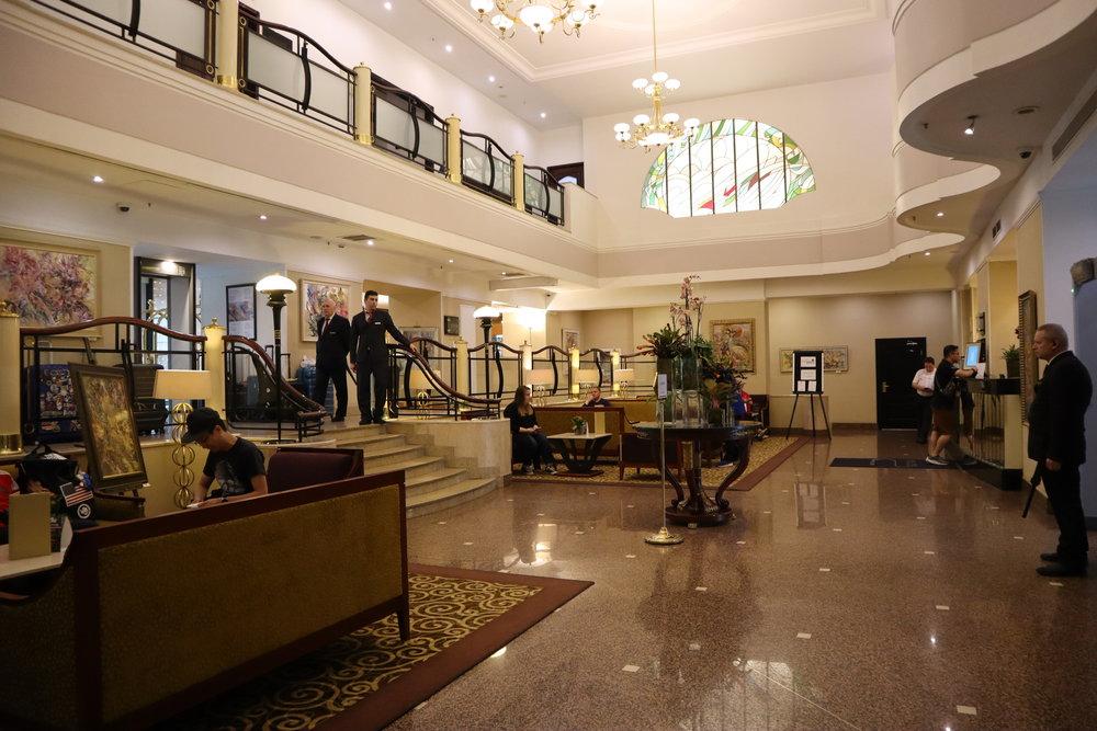 Marriott Moscow Tverskaya – Lobby