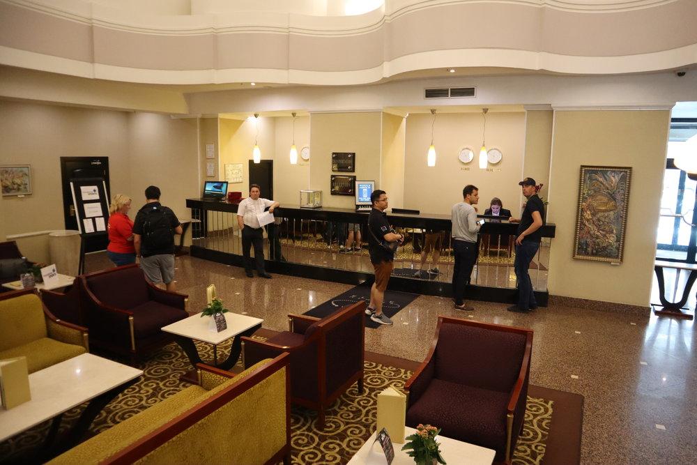 Marriott Moscow Tverskaya – Front desks