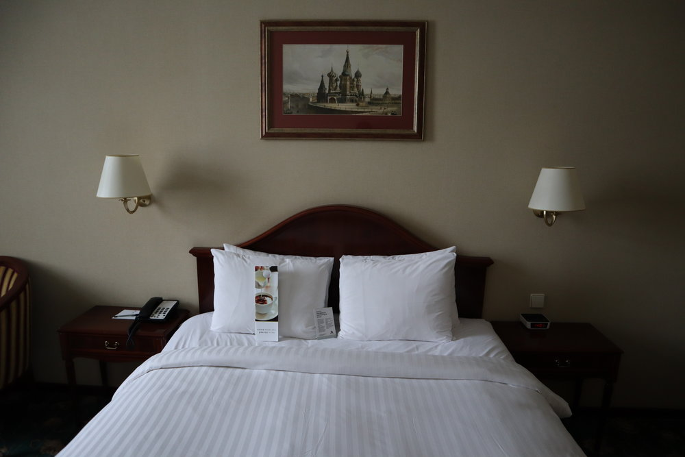 Marriott Moscow Tverskaya – King bed