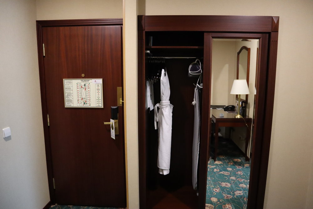 Marriott Moscow Tverskaya – Bathrobes