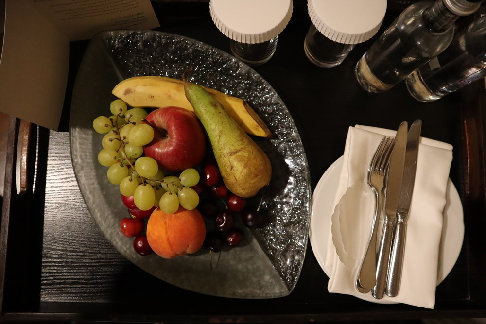 Marriott Moscow Tverskaya – Welcome amenity