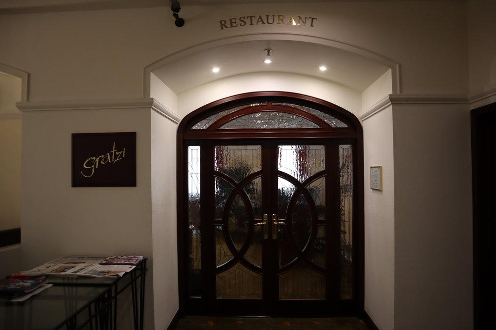 Marriott Moscow Tverskaya – Gratzi Restaurant