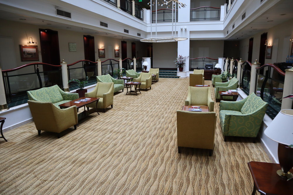 Marriott Moscow Tverskaya – Fourth floor seating area