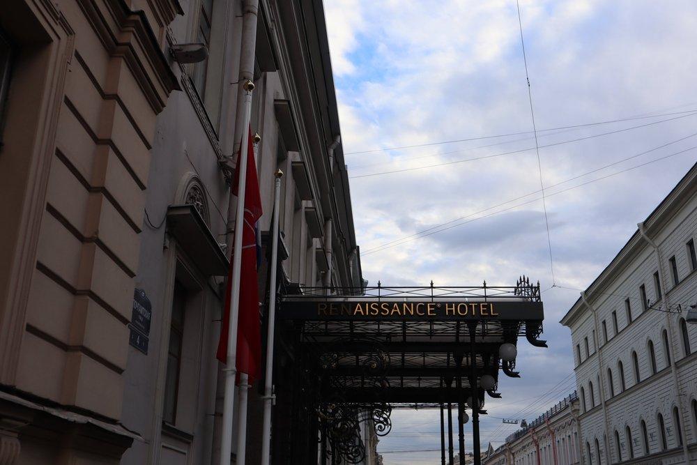 Renaissance St. Petersburg Baltic Hotel – Exterior